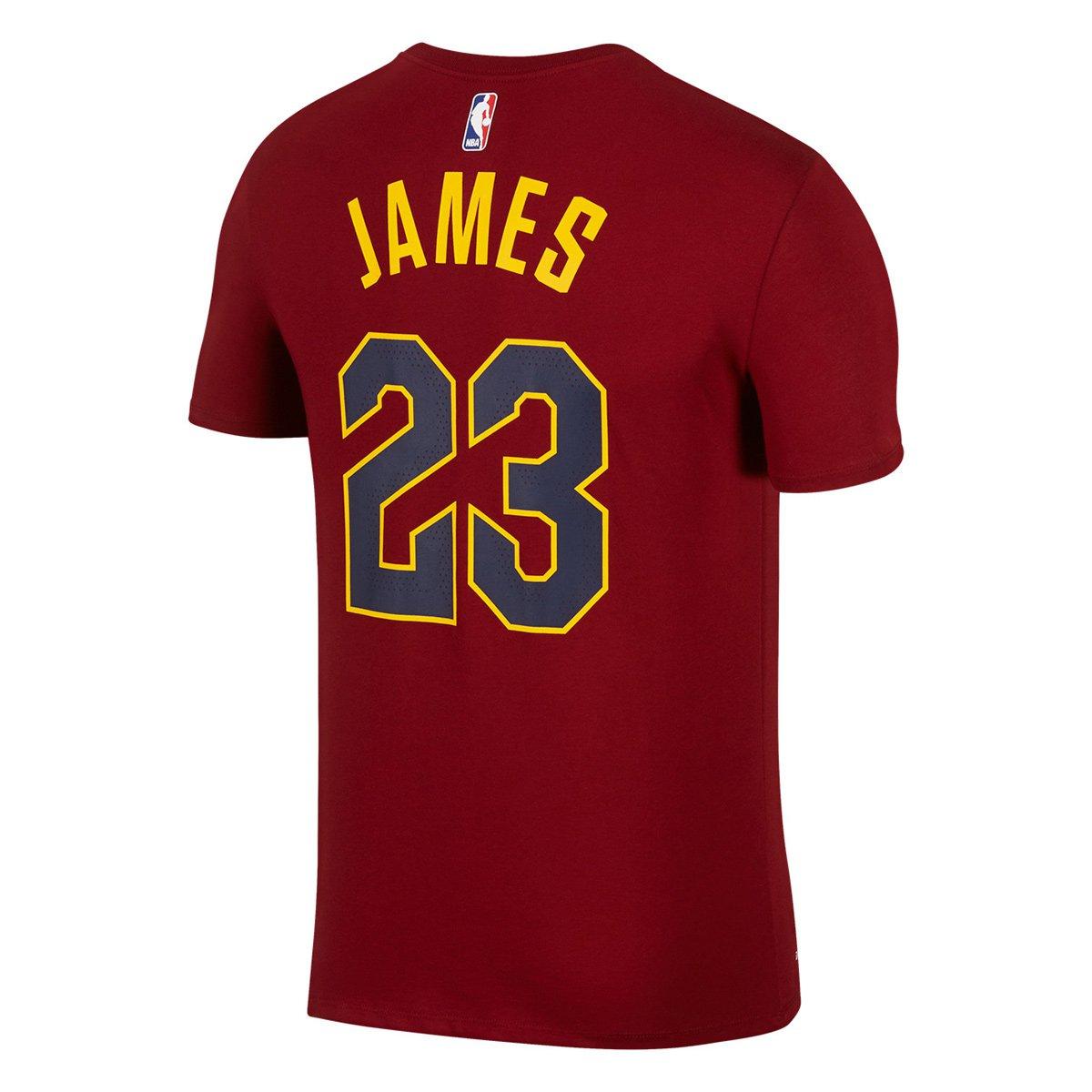 727bf78ed Camiseta NBA Lebron James Cleveland Cavaliers Nike N N - Compre Agora