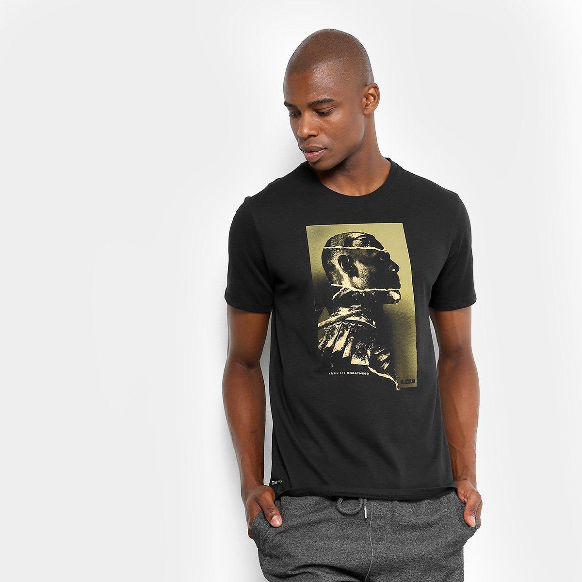 9b966e90ea Camiseta NBA Lebron James Nike Dry Leader Masculina - Preto - Compre ...