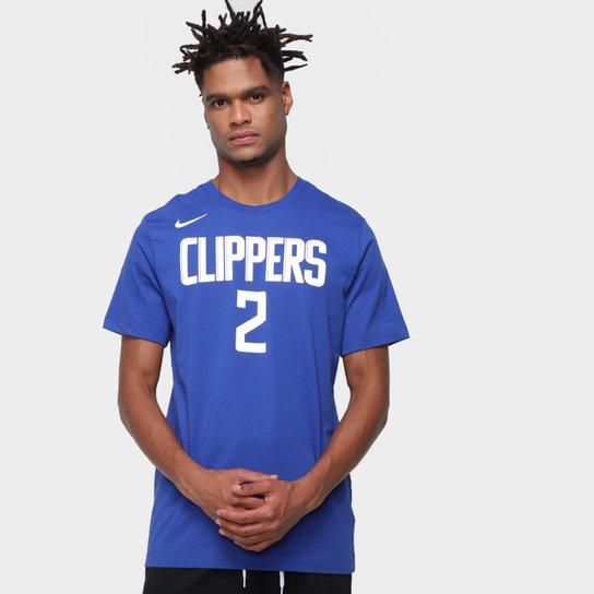 Camiseta NBA Los Angeles Clippers Kawhi Leonard Nike Masculina - Azul