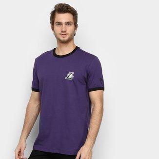 Camiseta NBA Los Angeles Lakers 90'S Continues Rib Masculina