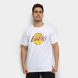 Camiseta NBA Los Angeles Lakers Big Logo Masculina