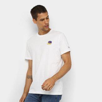 Camiseta NBA Los Angeles Lakers Continues Back Masculina