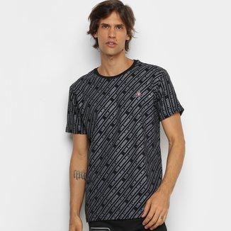 Camiseta NBA Los Angeles Lakers Diagonal Masculina