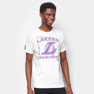 Camiseta NBA Los Angeles Lakers Estampada Masculina
