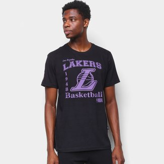 Camiseta NBA Los Angeles Lakers Estampada Masculina
