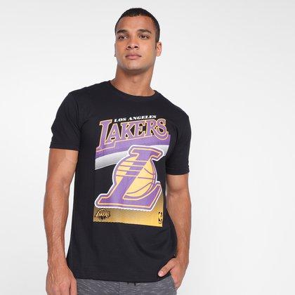 Camiseta NBA Los Angeles Lakers Logo Masculina