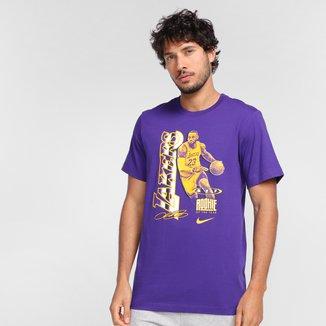 Camiseta NBA Los Angeles Lakers MVP Lebron James Nike Select Series Masculina