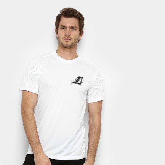 Camiseta NBA Los Angeles Lakers Neon Id Tech Masculina - Branco