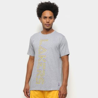 Camiseta NBA Los Angeles Lakers Neon Masculina