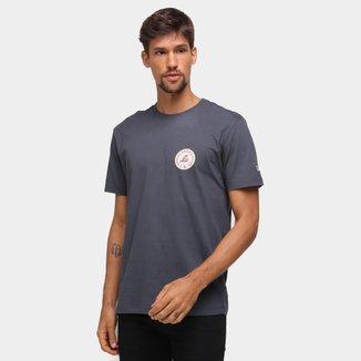 Camiseta NBA Los Angeles Lakers New Era College Branch Masculina