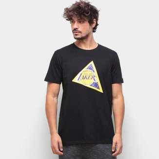 Camiseta NBA Los Angeles Lakers New Era Extra Fresh Triangle Masculina