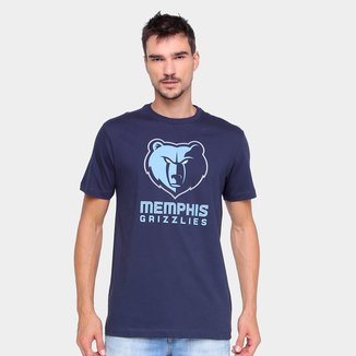 Camiseta NBA Memphis Grizzlies New Era Logo Masculina