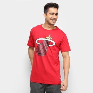 Camiseta NBA Miami Heat Big Logo Masculina