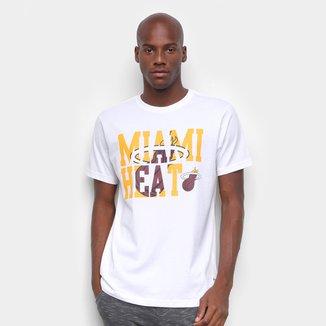 Camiseta NBA Miami Heat Estampada Masculina