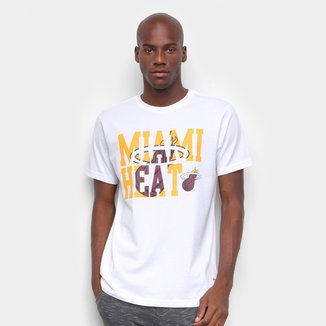 Camiseta NBA Miami Heat Estampada Masculina