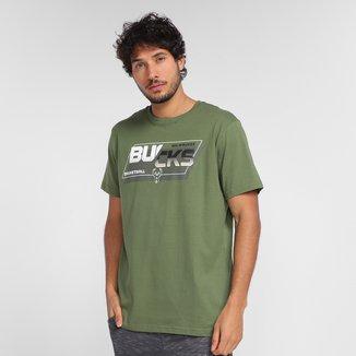 Camiseta NBA Milwaukee Bucks Basketball Masculina