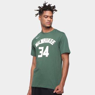 Camiseta NBA Milwaukee Bucks Giannis Antetokounmpo Nike Masculina