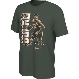 Camiseta NBA Milwaukee Bucks MVP Giannis Antetokounmpo Nike Select Series Masculina