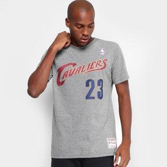 Camiseta NBA Mitchell & Ness Lebron James Masculina
