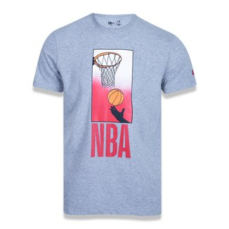 Camiseta NBA New Era Core Playing Masculina