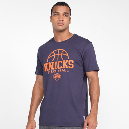 Camiseta NBA New York Knicks Basketball Team Masculina