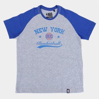 Camiseta NBA New York Knicks Juvenil Masculina