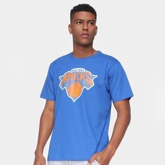 Camiseta NBA New York Knicks Logo Masculina