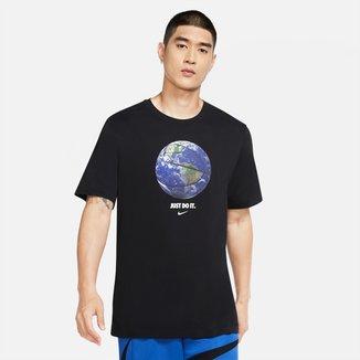 Camiseta NBA Nike World Ball Dri-Fit Masculina