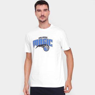 Camiseta NBA Orlando Magic Logo New Era Logo Masculina