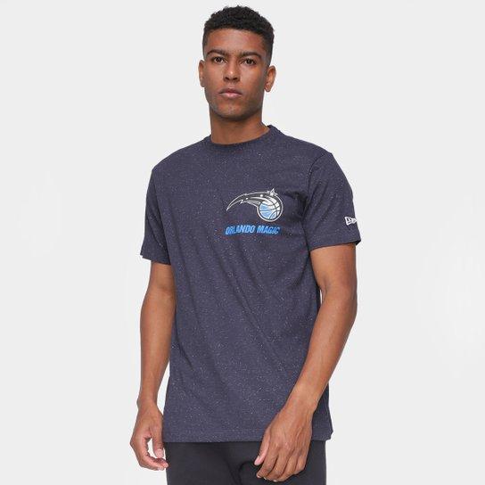Camiseta NBA Orlando Magic New Era Rave Space Galaxy Masculina - Marinho