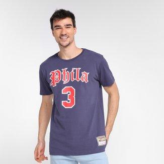 Camiseta NBA Philadelphia 76ers Allen Iverson Mitchell & Ness Masculina