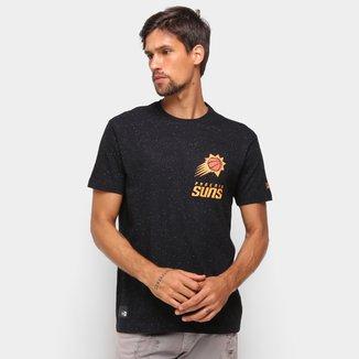 Camiseta NBA Phoenix Suns New Era Rave Space Galaxy Masculina