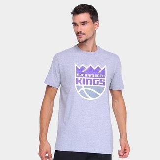 Camiseta NBA Sacramento Kings New Era Logo Masculina