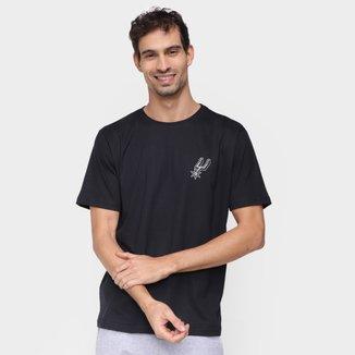 Camiseta NBA San Antonio Spurs Mini Shield Masculina