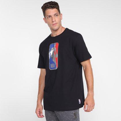 Camiseta NBA Sketch Logo Man Masculina