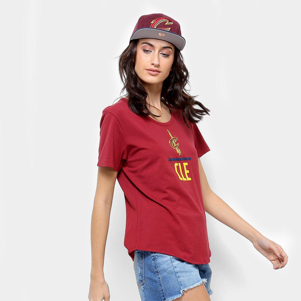 3763e925f04 Camiseta NBA Under Armour Cleveland Cavaliers Combine Feminina - Compre  Agora