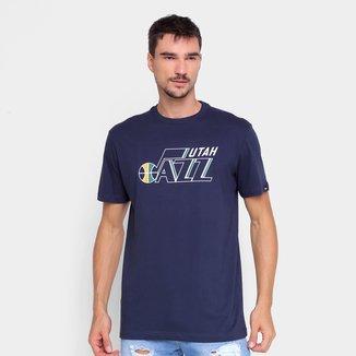 Camiseta NBA Utah Jazz New Era Logo Masculina