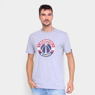 Camiseta NBA Washington Wizards New Era Logo Masculina