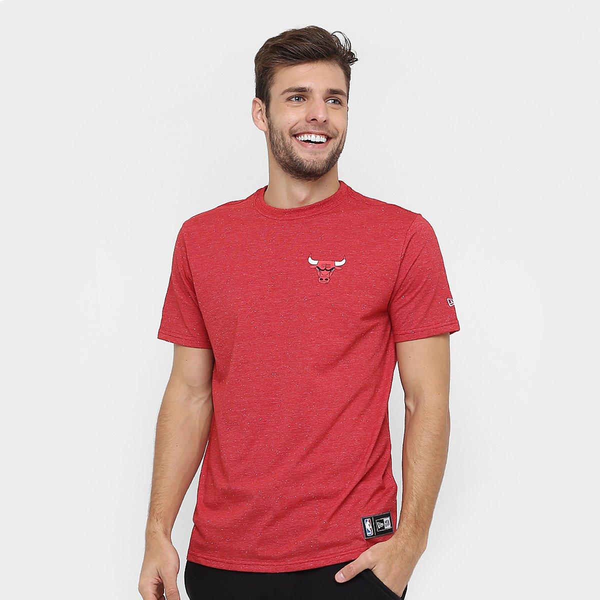 Camiseta New Era NBA Arabesco Chicago Bulls - Compre Agora  59d7db29b07