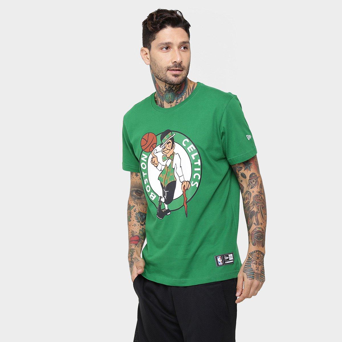 Camiseta New Era NBA Basic Logo Boston Celtics - Compre Agora  b833a6c0edaab