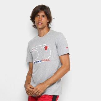 Camiseta New Era NBA Chigado Bulls Essentials Block Masculina