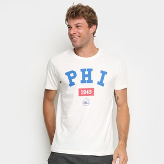 Camiseta New Era NBA Philadelphia 76Ers Essentials Masculina