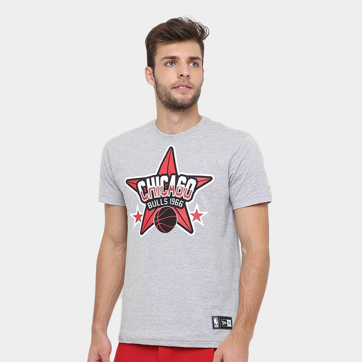 Camiseta New Era NBA Start Chicago Bulls - Compre Agora  7e4182baa22