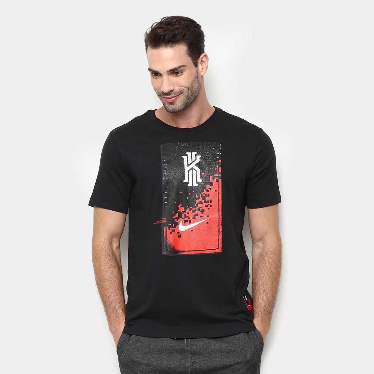 Camiseta Nike Dri-Fit Kyrie Mind Masculina - Preto - Compre Agora ... 32711b0f7b9