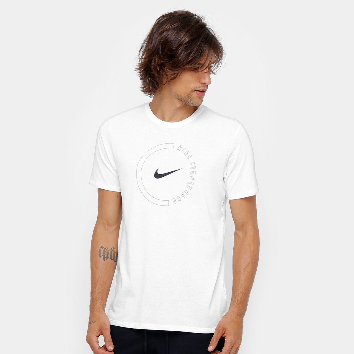622cc0f47f Camiseta Nike Funda Circle Masculina