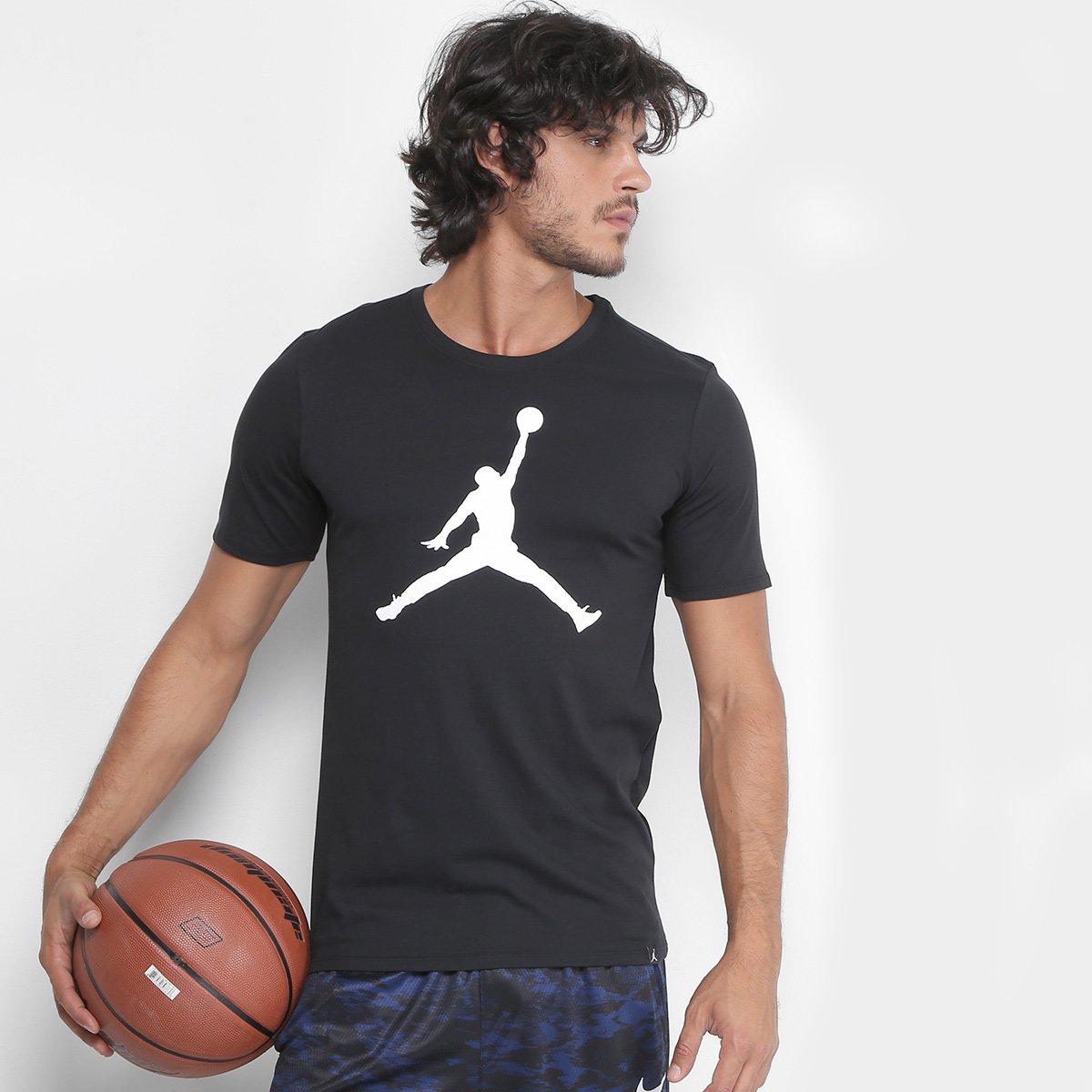 Camiseta Nike Jordan Iconic Jumpman Masculina - Compre Agora  13c96b065f6