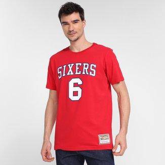 Camiseta Philadelphia 76ers Julius Erving Mitchell & Ness Masculina
