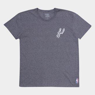 Camiseta Plus Size NBA San Antonio Spurs Masculina