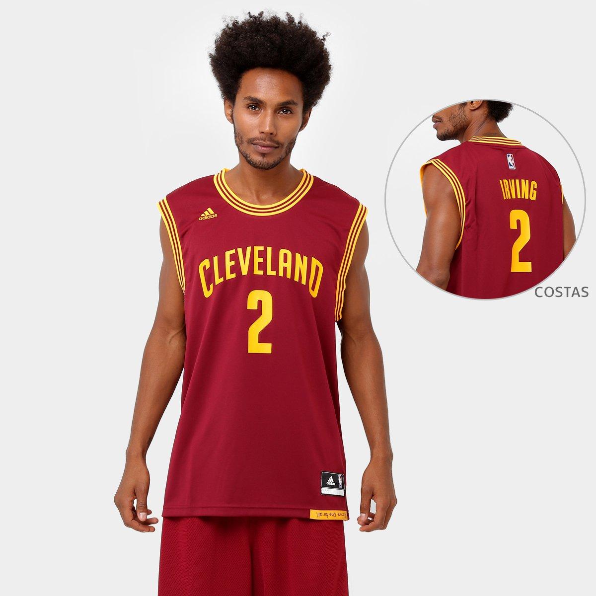 7600b813e Camiseta Regata Adidas NBA Cleveland Cavaliers - Irving - Compre Agora