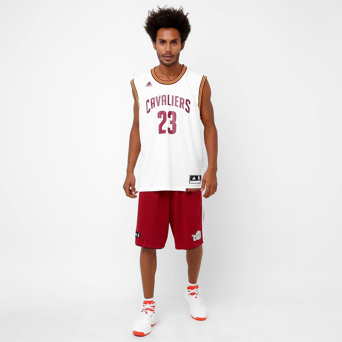 amplificación no se dio cuenta Marte  Camiseta Regata Adidas NBA Cleveland Cavaliers - James | Loja NBA